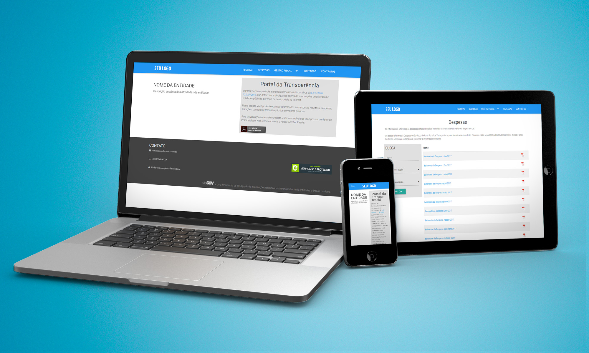 Blog viaGOV - Informações sobre Transparência Pública